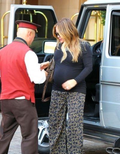 Хилари Дафф устала быть беременной