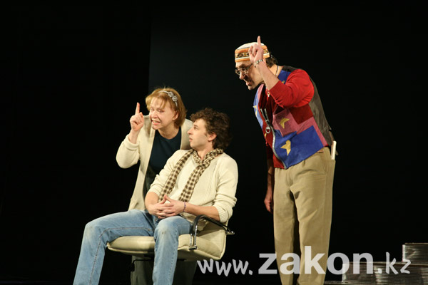 Сегодня в театре им. М.Ю. Лермонтова состоится премьера спектакля «Отель двух миров» (фото)