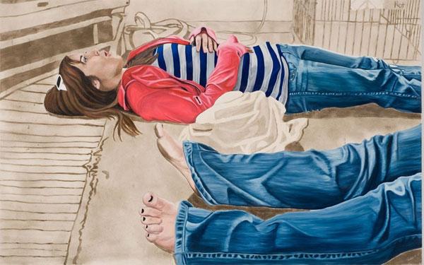Художница Элисон Кортсон создает картины из пыли (фото)