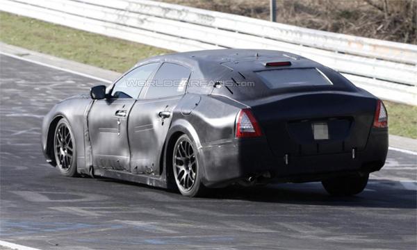 Получены фото Maserati Quattroporte нового поколения