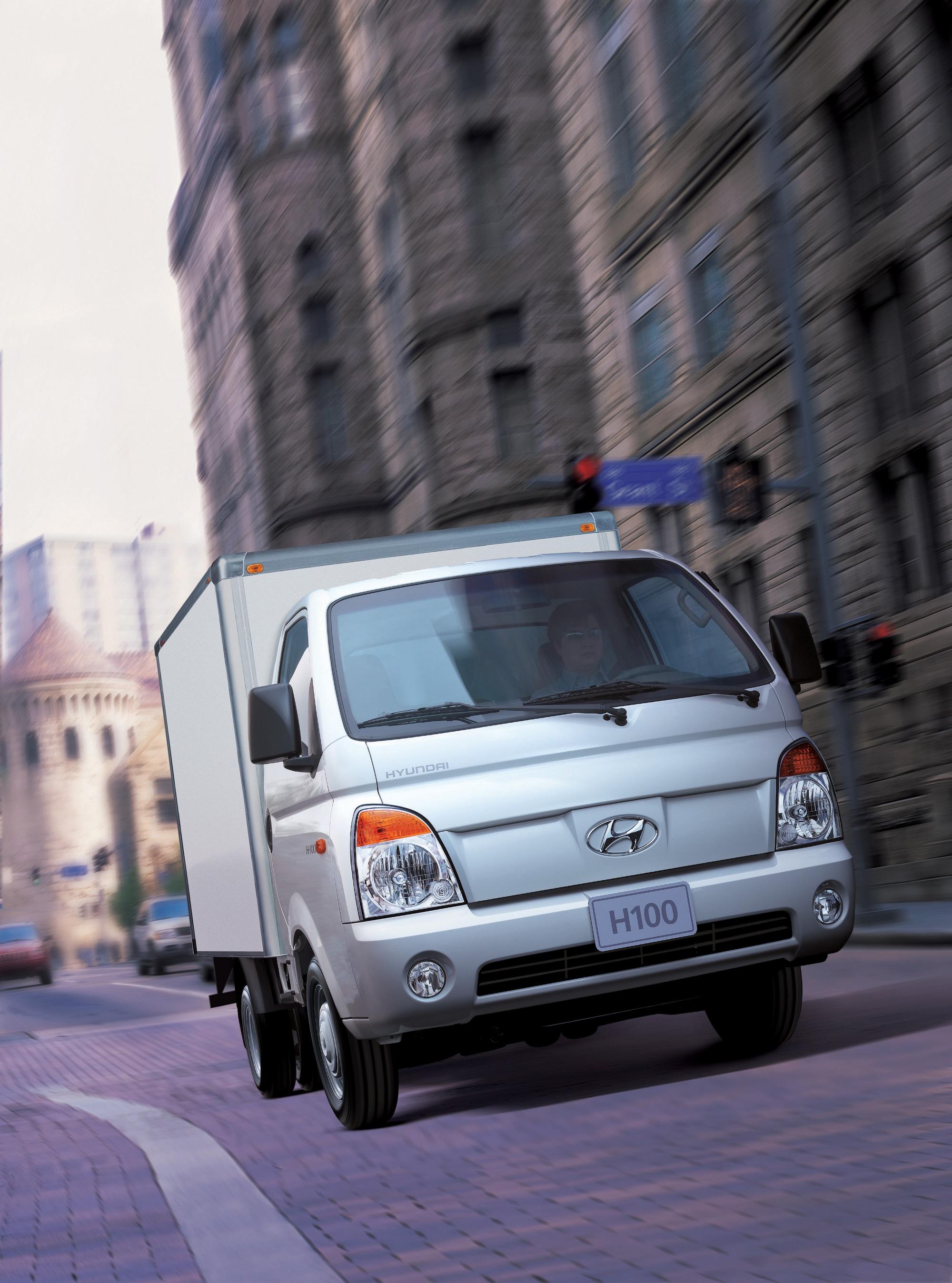 В Казахстане собрана первая партия грузовиков Hyundai Porter