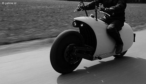 Австрийцы создали удивительный электромотоцикл Фото: Autoevolution.com