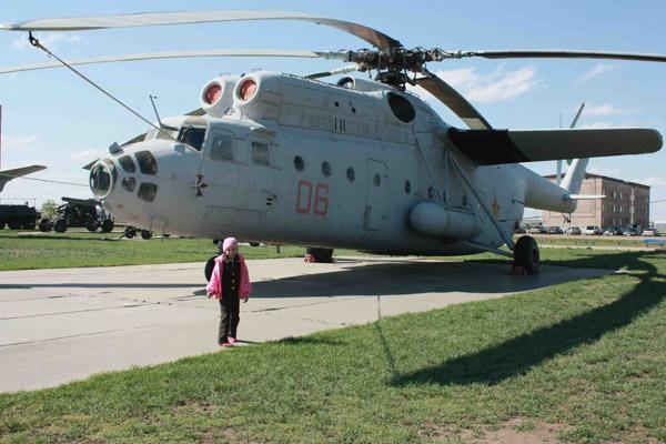 В Астане есть музей военной техники под открытым небом