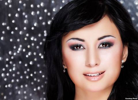 казахстанская певица Мадина Садвакасова. Фото