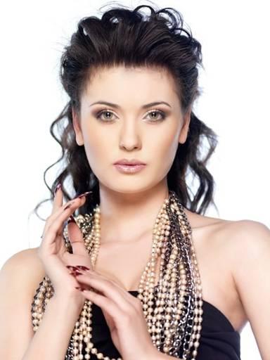 Жанар Нурбаева - Первая вице-мисс Казахстан 2010. Фото