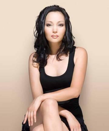 красивая казашка Баян Есентаева. Фото