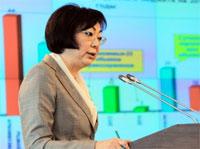 министр здравоохранения РК С.Каирбекова