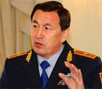 министр внутренних дел РК К.Касымов