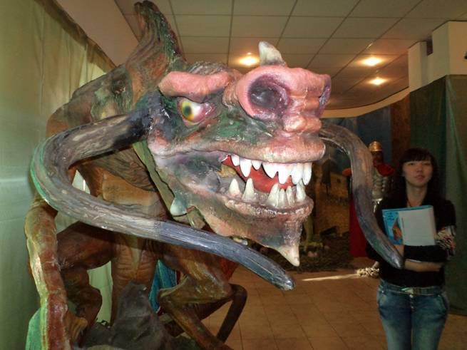 В Усть-Каменогорске открылась выставка драконов (фото)