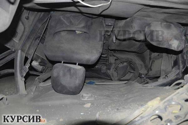 В Алматы после серьезного ДТП чудом уцелел пьяный водитель (ФОТО)