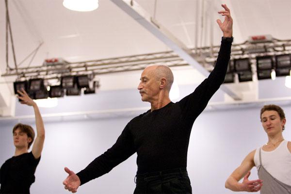 Название знакомых фамилий известных балетмейстеров