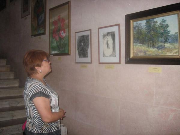 В Семее проходит выставка «Созерцание»