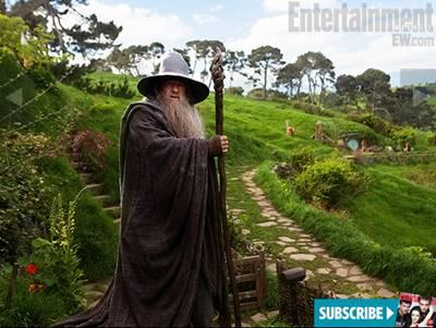 Новые кадры «Хоббита» Питера Джексона