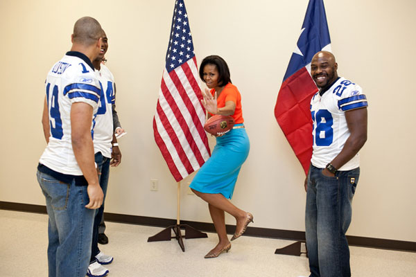 Жизненные моменты американского президента (фото)