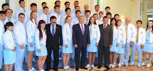 Глава госагентства по делам спорта считает «достойной» олимпийскую форму казахстанцев