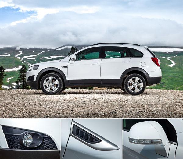Chevrolet Captiva, ремюаж и дегоржаж (фото)