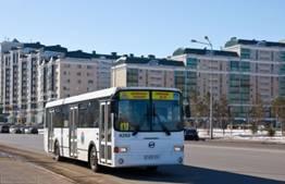 Просмотров 119.  В Астане из-за ремонтных работ c 14 по 31 августа 2012 года изменятся маршруты автобусов.