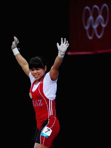 Зульфия Чиншанло принесла для Казахстана вторую золотую медаль на Олимпиаде, побив мировой и олимпийский рекорды