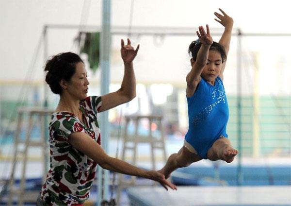 Подготовка будущих олимпийцев в Китае (фото)