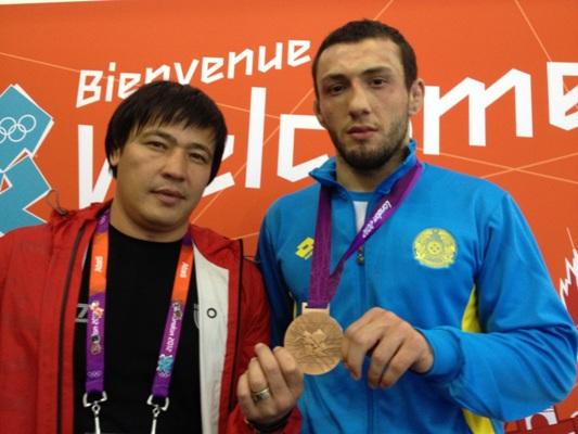 Борец Даниял Гаджиев выиграл для Казахстана первую «бронзу» на Олимпиаде
