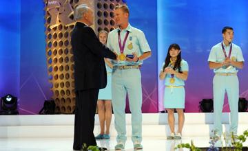 Назарбаев наградил олимпийских чемпионов самыми почетными орденами страны