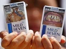"""США отказались от """"страшных"""" сигаретных пачек"""