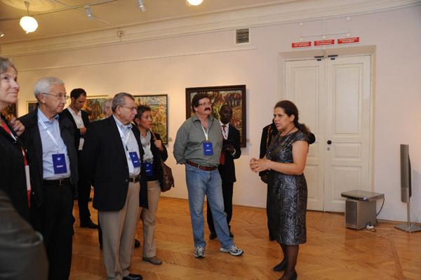 В Усть-Каменогорске открылась персональная выставка «Талгат Татиев. На светлой стороне жизни»