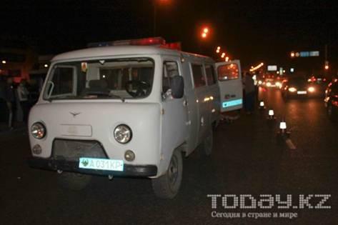 В Алматы под колесами «Хонды» погиб пешеход (фото)