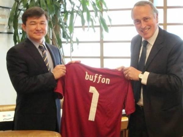 ФФК подписала договор о сотрудничестве с Итальянской федерацией футбола (фото)
