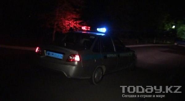Ночью в Алматы грабители избили и раздели прохожего (фото)