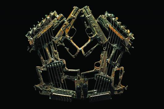 Pedro Reyes 1 Музыкальные инструменты из оружия