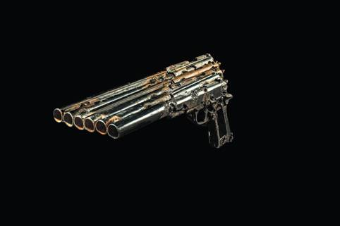 Pedro Reyes 3 Музыкальные инструменты из оружия