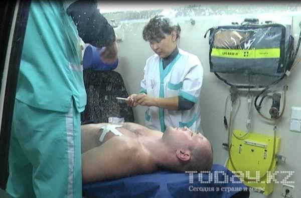 В Южной столице мужчину ранили из травматического пистолета (фото)