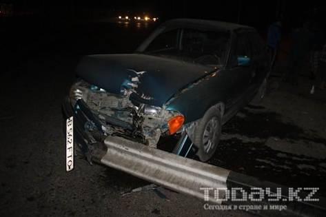 В Алматы при столкновении «Ауди» с «Опелем» пострадала пассажирка (фото)