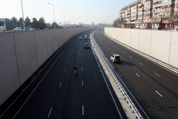 Сегодня открылось движение для общественного транспорта по ул. Саина (фото)