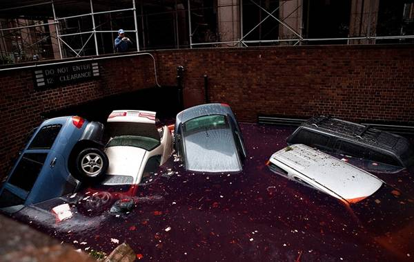 haosafter 1 Разруха и хаос после урагана Сэнди