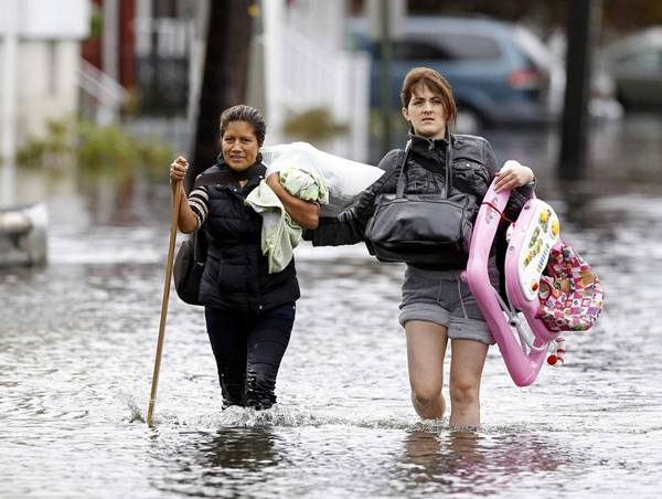 haosafter 4 Разруха и хаос после урагана Сэнди