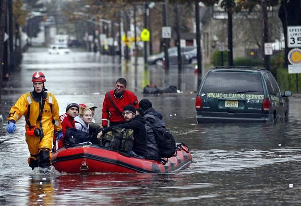 haosafter 5 Разруха и хаос после урагана Сэнди