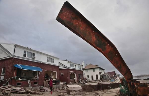 haosafter 20 Разруха и хаос после урагана Сэнди