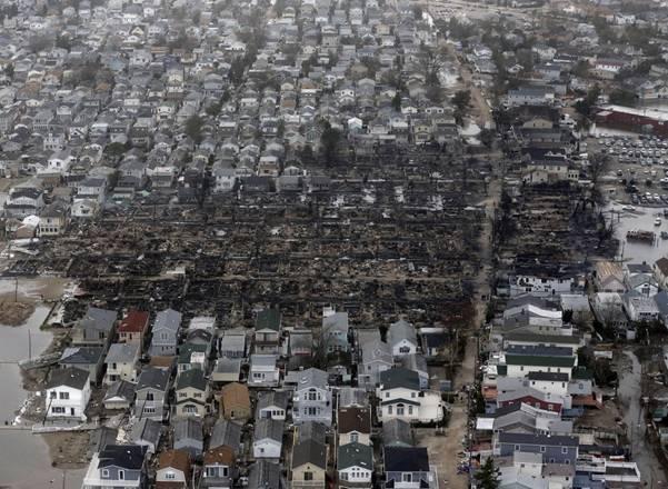 haosafter 22 Разруха и хаос после урагана Сэнди