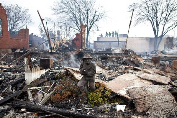 haosafter 24 Разруха и хаос после урагана Сэнди