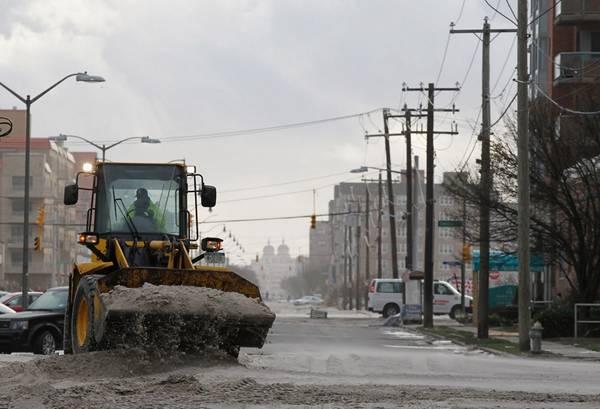 haosafter 36 Разруха и хаос после урагана Сэнди