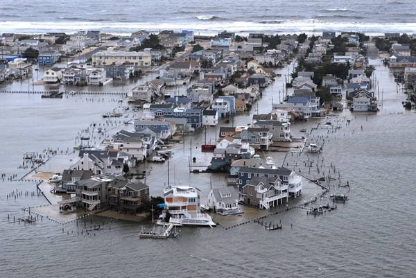 haosafter 39 Разруха и хаос после урагана Сэнди