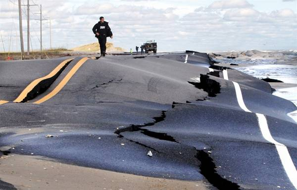 haosafter 42 Разруха и хаос после урагана Сэнди