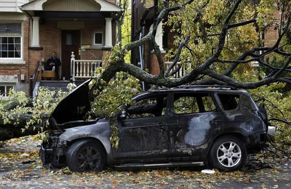 haosafter 45 Разруха и хаос после урагана Сэнди