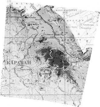 В Казахстане ученые обнаружили одну из самых крупных аномальных зон в мире