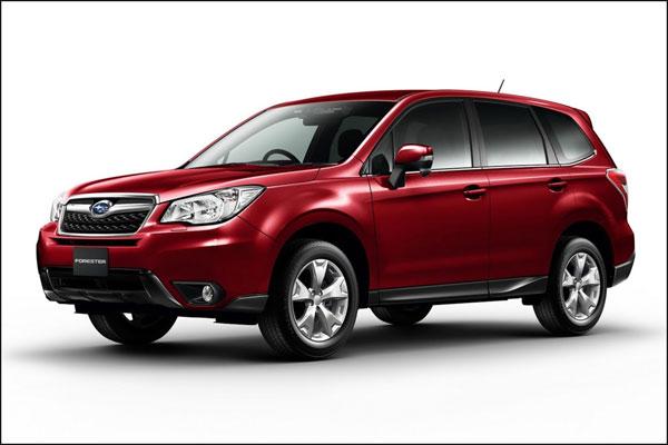 Subaru Forester: первые официальные фото