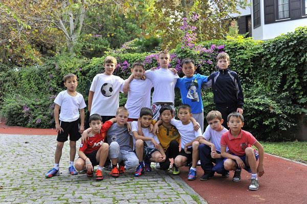 Победители турнира на призы президента федерации футбола Астаны проводят «футбольные каникулы» в Анталии