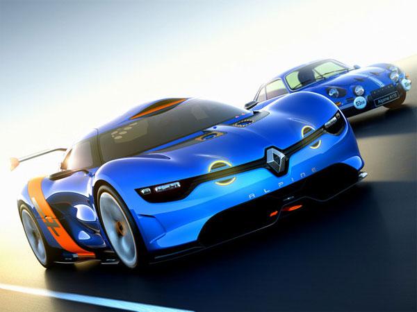 Renault и Caterham возродят бренд Alpine (фото)