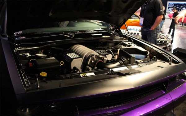 Для Джеффа Данхэма компания Chrysler в единственном экземпляре построила спецверсию Dodge Challenger Ultraviolet (фото)